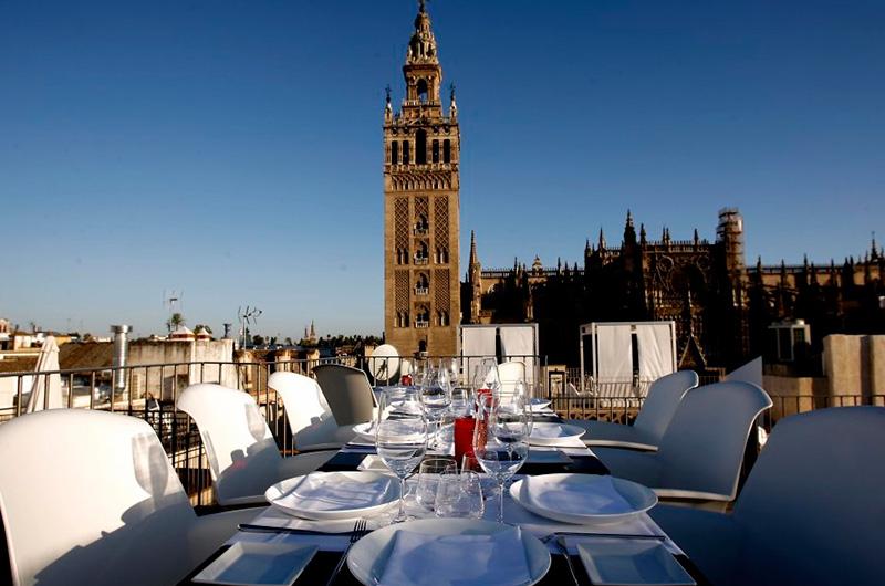 Terrazas para comer en Sevilla